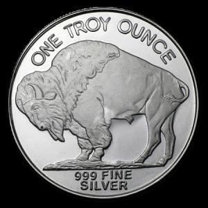 1oz Silver Buffalo Round