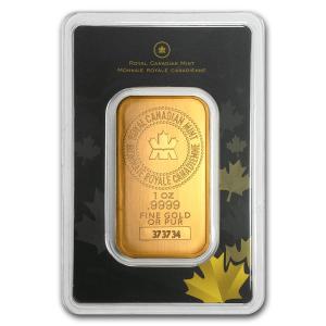 1oz RCM Gold Bar