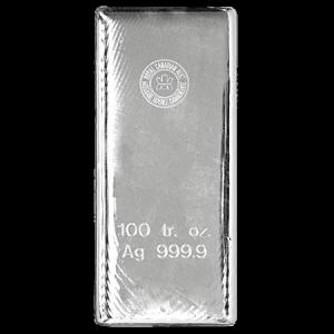 100oz RCM Silver Bar