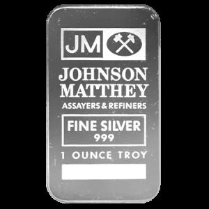 10z JM Silver Bar