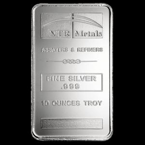 10oz NTR Silver Bar