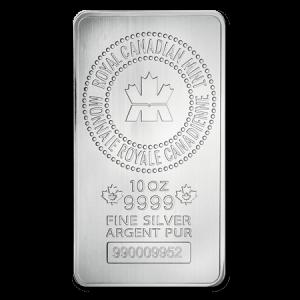 10oz RCM Silver Bar