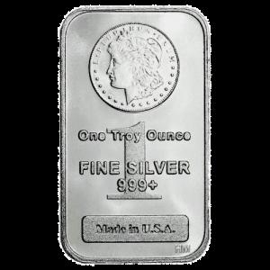 Morgan silver 1 oz bar