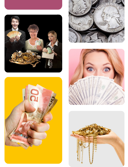 Cash for gold jewellery